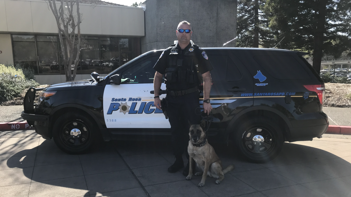 Keysight Headquarters Goes to the Dogs -- For K-9 Officer Training
