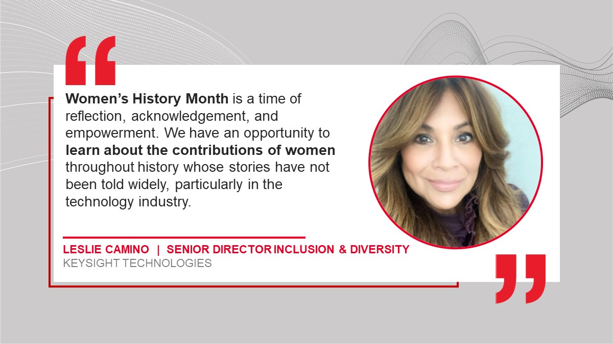 Q&A with Keysight's Director of Inclusion & Diversity — Women's History Month and Gender Diversity Trends