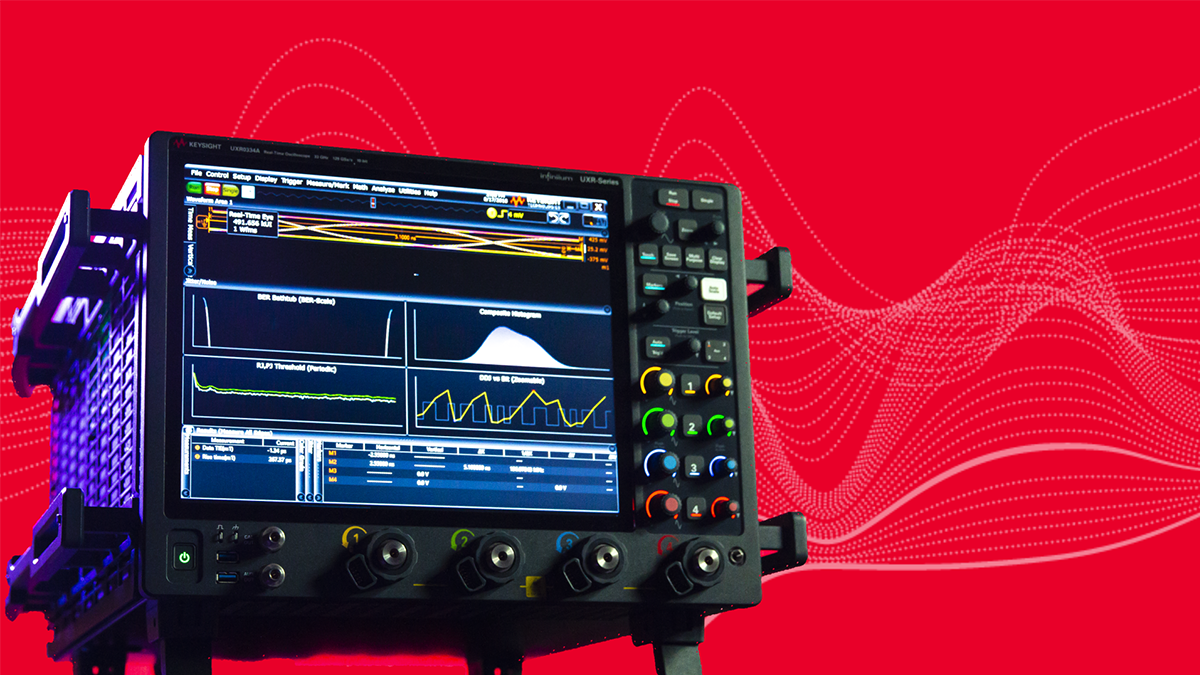 New Oscilloscope with Industry Leading Signal Integrity