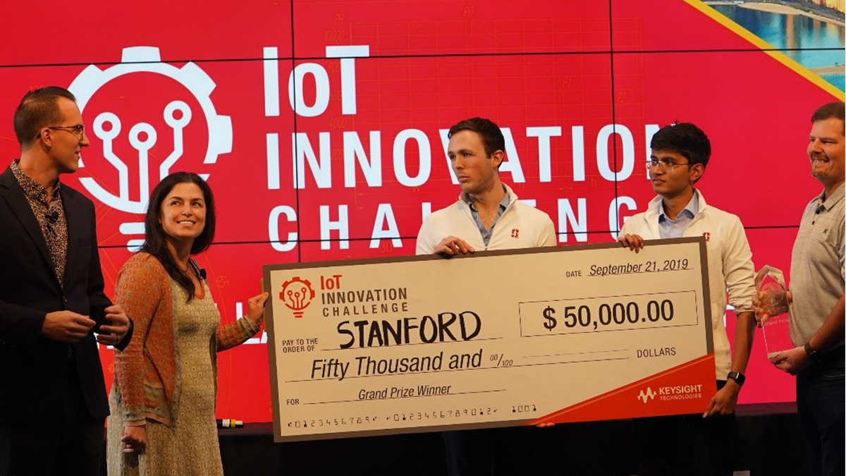 Keysight's IoT Innovation Challenge winners showcase ideas to change the world