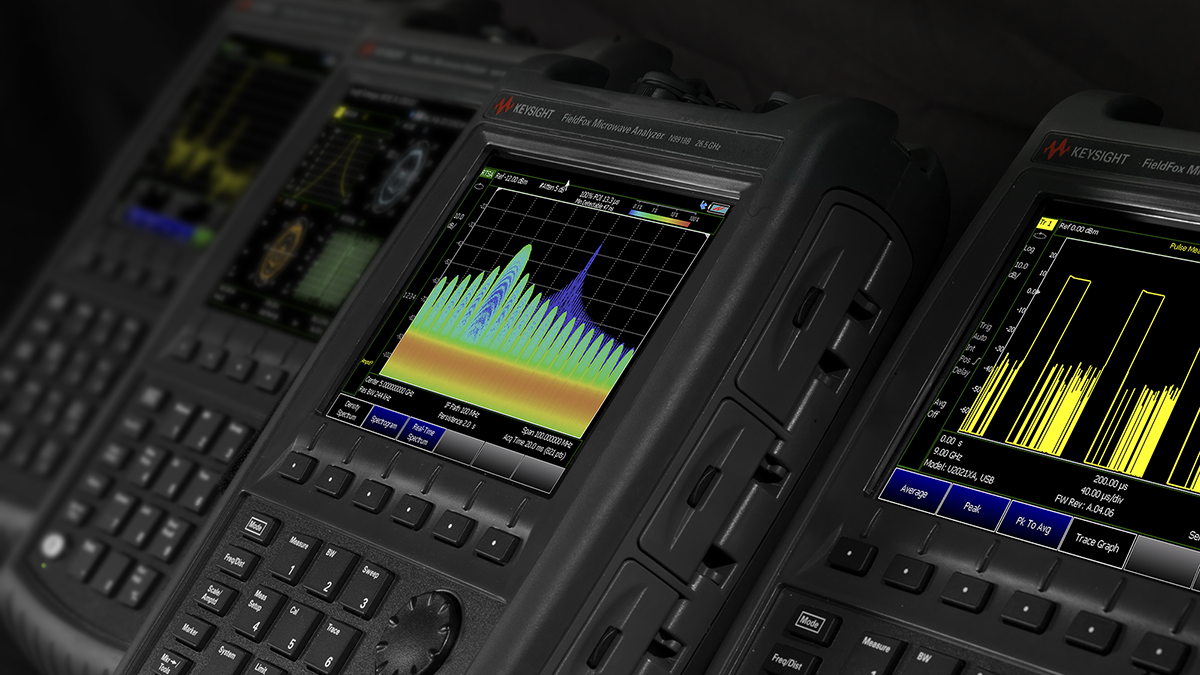 The Arrival of the Next Generation Wide-band Handheld Analyzer