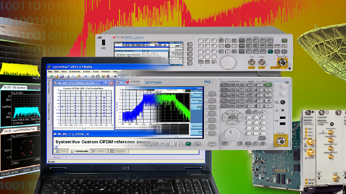 Download I/Q Waveforms into a Vector Signal Generator