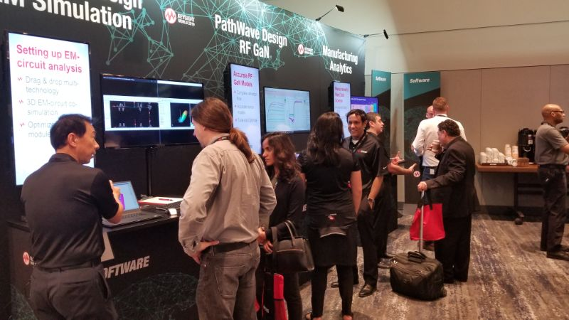 Demo at Keysight World