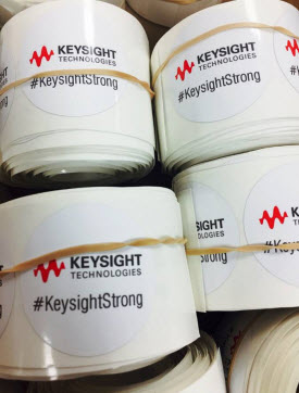 Keysight Strong Stickers