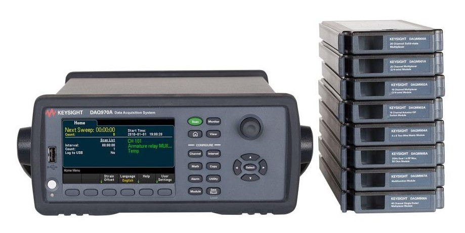 DAQ970A data acquisition system
