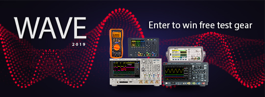Figure 4. Enter the Wave 2019 online event for a chance to win instrument giveaways and gain access to exclusive content