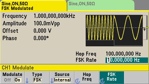 Waveform modulation with your function generator | Keysight